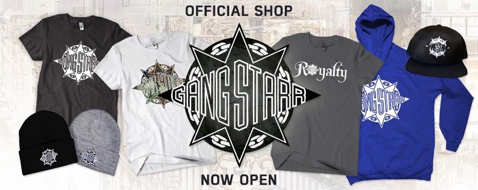 Gang Starr Shop Now Open