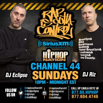 Rap is Outta Control| Dj Eclpise DJ Riz | Design by Joysco Studi
