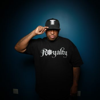 DJ Premier Pic w_TTT Cap Bill Pulled Down)