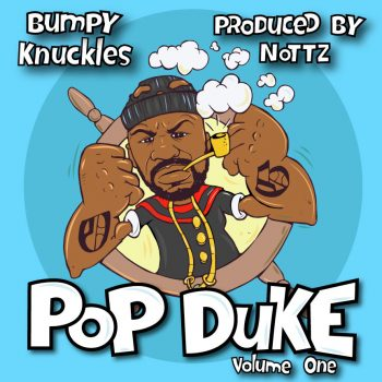 BUMPY KNUCKLES X NOTTZ (LP COVER ART)