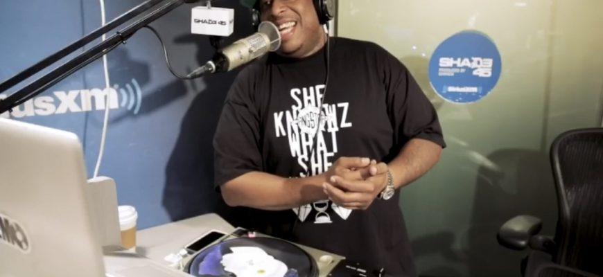 DJ PREMIER (SHADE 45 DJ BOOTH PIC) 1.22.19